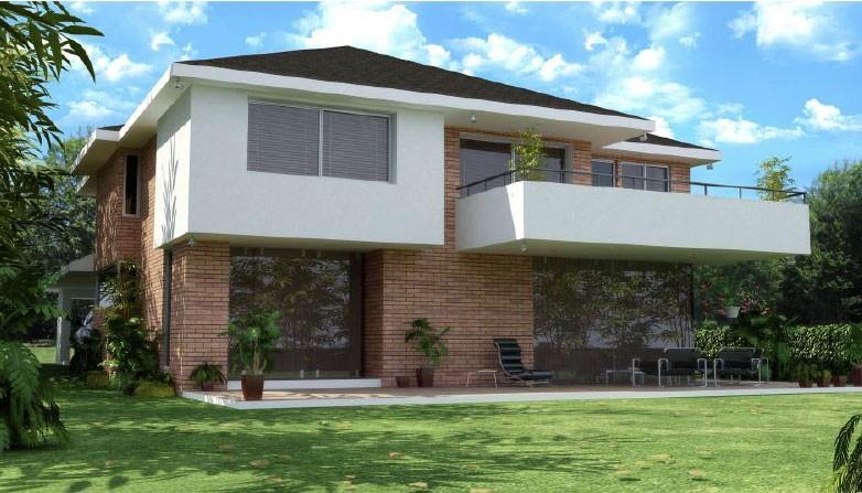 Proyectos de vivienda terrazas de mensul for Cubiertas para casas campestres